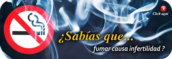 �Sab�as que fumar causa infertilidad?